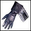 Fringed Gauntlet- Leather Gloves
