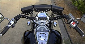 Motorcycle Handlebar covers