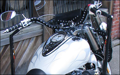 Handlebar Cover Chilhowee Motorcycle Leather