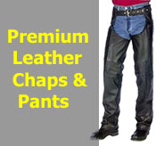 Premium Leather Chaps and Pants