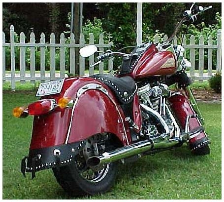 Indian motorcycle mud flaps