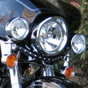 Light bar cover chilhowee motorcycle leather light bar cover aloadofball Image collections