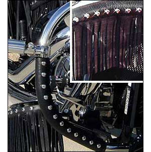 Leather Engine Guard Covers