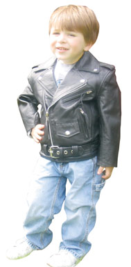 Girl's Classic Motorcycle Jacket