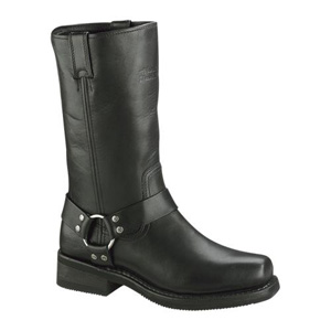 Hustin Motorcycle Boots - Black