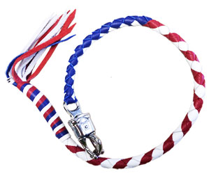 "Limited Edition!! - ""Proud American"" Old-School Biker Whip"