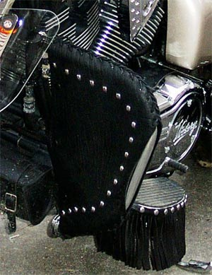 Engine Guard Chaps Indian Chilhowee Motorcycle Leather