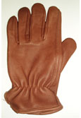 Brown Deerskin Driver Gloves