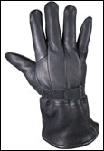 Classic Deerskin Leather Gauntlet Gloves
