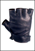 Fingerless- Handcrafted Leather Gloves
