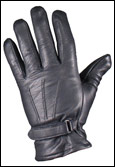 Cotton-Lined Goatskin Leather Driving Gloves