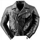 Naked Leather Pistol Pete Motorcycle Jacket