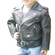 Girl's Leather Motorcycle Jackets