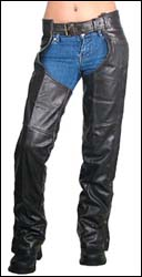 Women's Leather chaps - Leather Pants